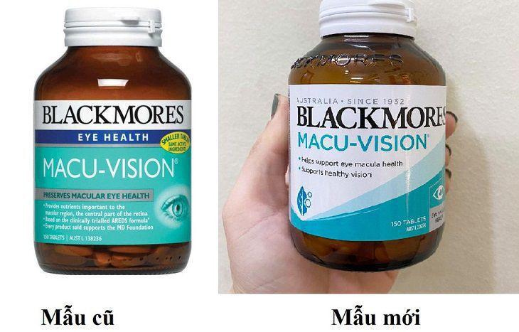 Giới thiệu viên uống bổ mắt Blackmores Macu-vision của Úc