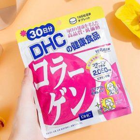 Giới thiệu viên uống Collagen DHC Nhật Bản
