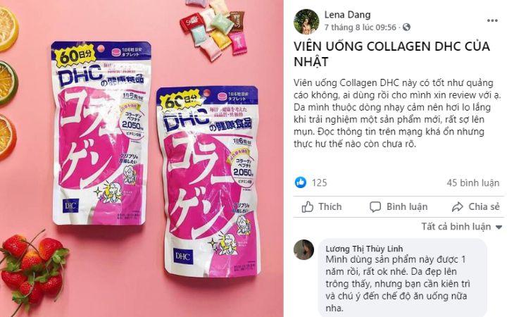 Trên Facebook có rất nhiều bài đăng hỏi về sản phẩm