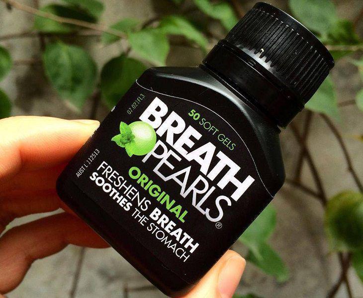 Viên uống thơm miệng Breath Pearls là gì