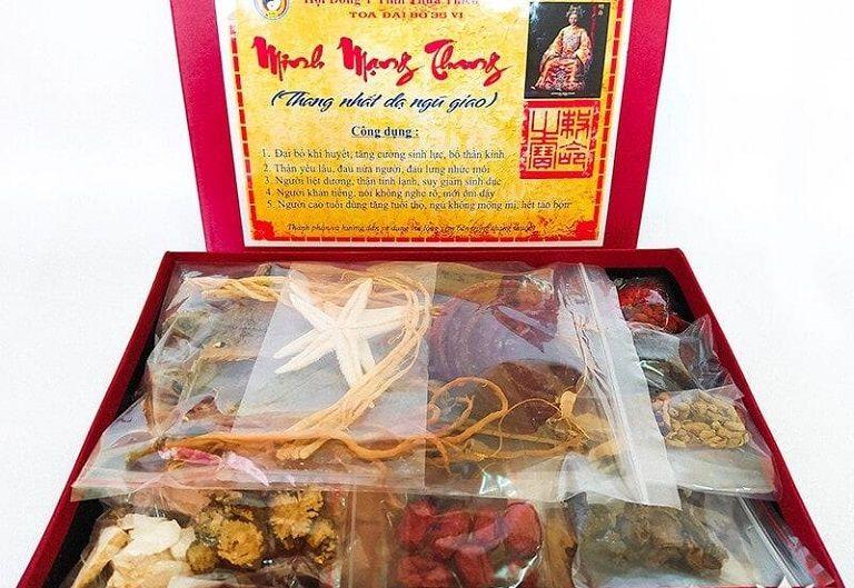 Bài thuốc Minh Mạng Thang được nam giới săn lùng vì hiệu quả mang lại trong chốn phòng the