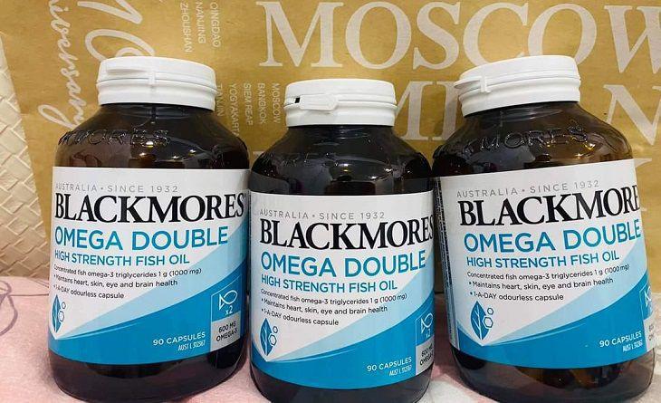 Blackmores Omega Double High Strength Fish Oil được nhiều người quan tâm