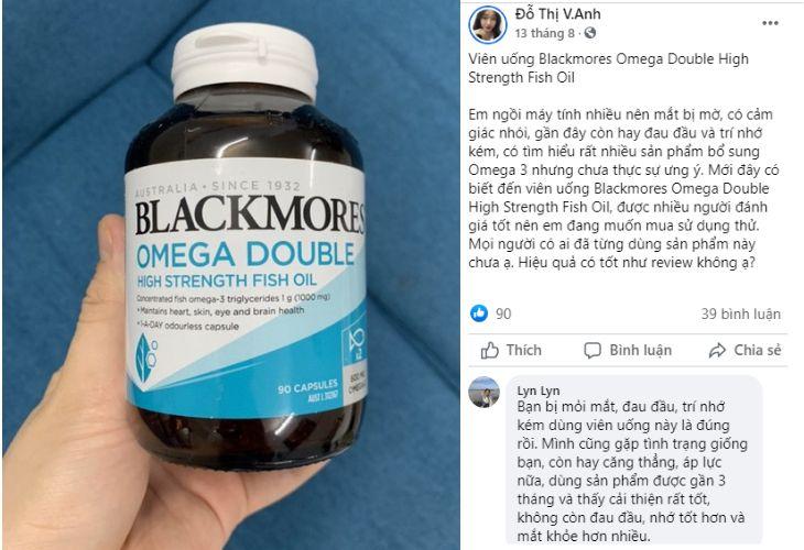 Hỏi đáp về viên uống trên Facebook