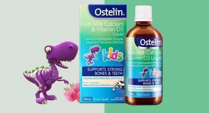 Canxi Ostelin cho bé là sản phẩm gì