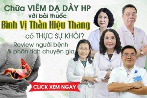 Chữa viêm dạ dày HP với bài thuốc Bình Vị Thần Hiệu Thang có khỏi hẳn không?