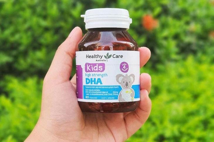 Một số câu hỏi liên quan đến Healthy Care Kid DHA