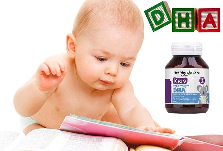 Viên uống bổ sung DHA cho trẻ từ 4 tháng tuổi