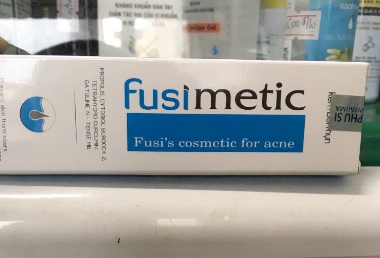 Kem trị mụn Fusimetic