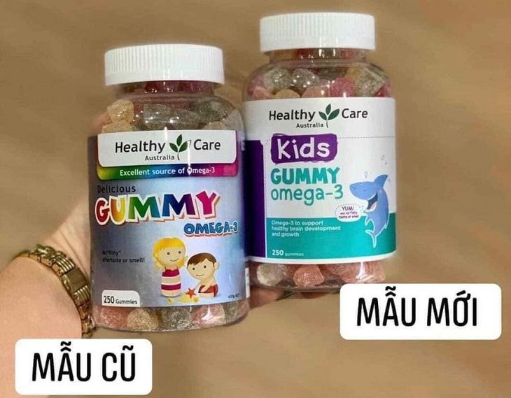 Giới thiệu kẹo Gummy Omega 3 cho bé