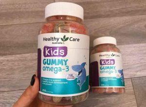 Công dụng của kẹo Gummy Omega 3 cho bé