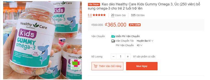 Hiện nay sản phẩm được bán với nhiều mức giá khác nhau