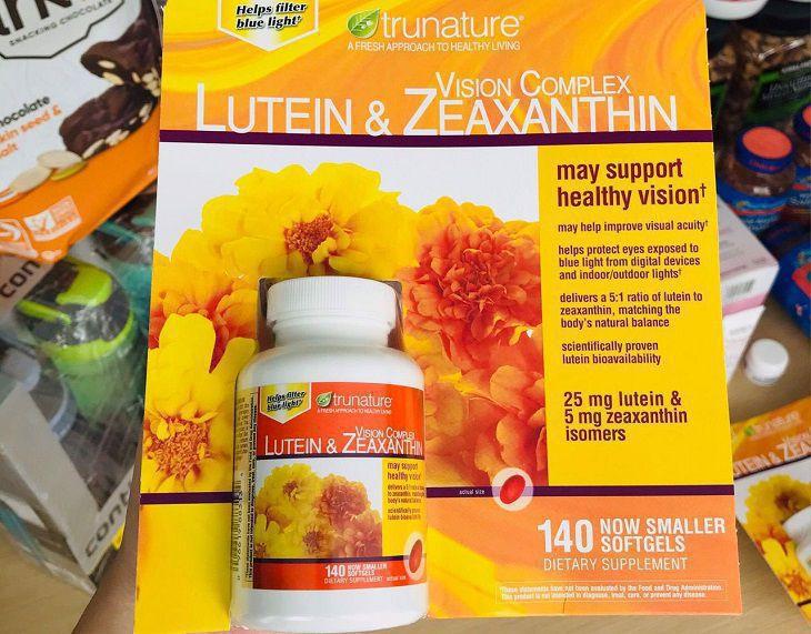 Viên uống Lutein Zeaxanthin giúp cho đôi mắt sáng khỏe