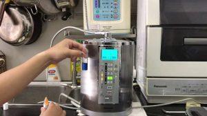 National TK7715 tạo được nước có kiềm tính mạnh