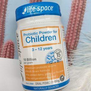 Giới thiệu men vi sinh Life Space cho trẻ từ 3 - 12 tuổi