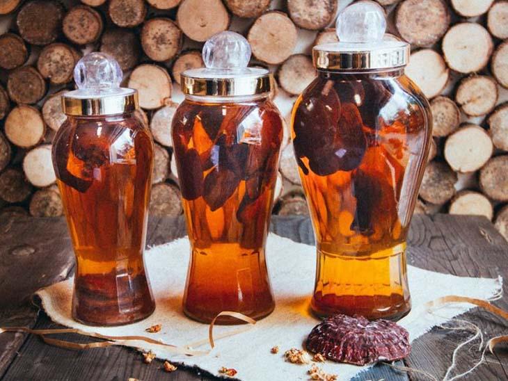 Rượu nấm giúp cường dương, bổ huyết, làm mạnh gân cốt