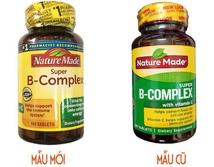 Giới thiệu về Nature Made Super B-Complex
