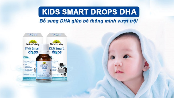 Nature's Way Kid Smart Drops DHA Giúp Trẻ Bổ Sung DHA
