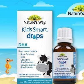 Công dụng của Nature's Way Kid Smart Drops DHA