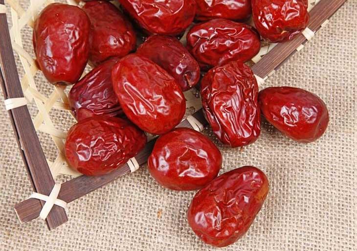 Bài thuốc trị bệnh với táo đỏ mang lại hiệu quả cao