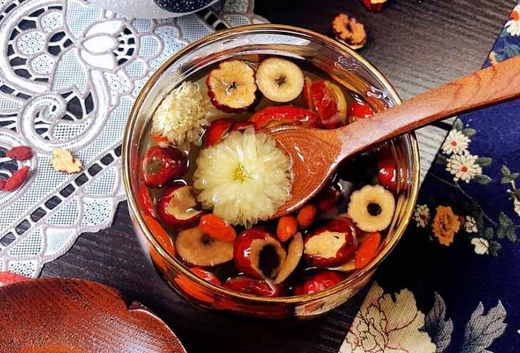 Món cháo táo đỏ bổ dưỡng, tốt cho sức khỏe
