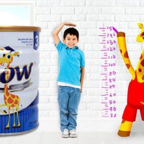 Uống sữa gì để tăng chiều cao - Abbott Grow