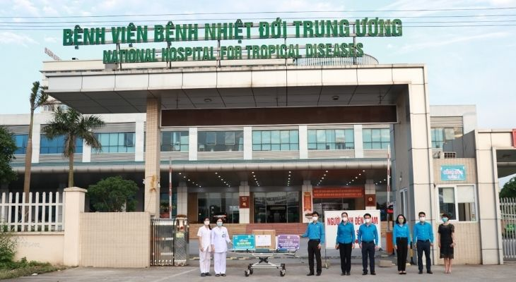 Bệnh viện Bệnh nhiệt đới Trung Ương là địa chỉ thăm khám uy tín nhiều bệnh