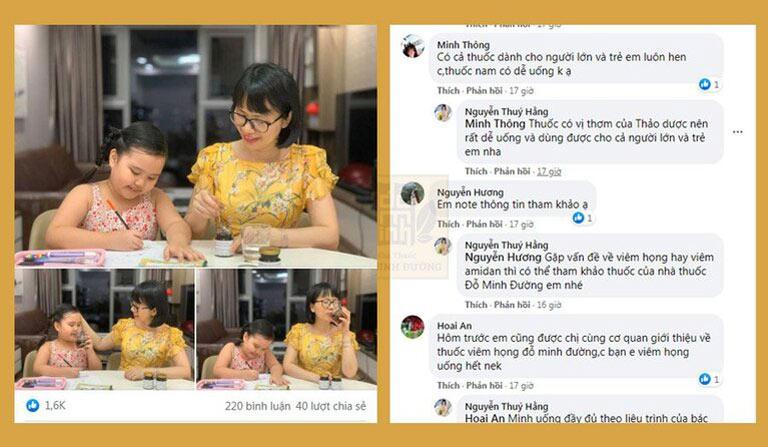 Bài đăng trên facebook cá nhân của Hotmom Hà Thành được nhiều mẹ bỉm sữa quan tâm