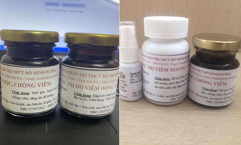 2 bài thuốc nam đặc trị bệnh viêm họng, viêm xoang của nhà thuốc Đỗ Minh Đường