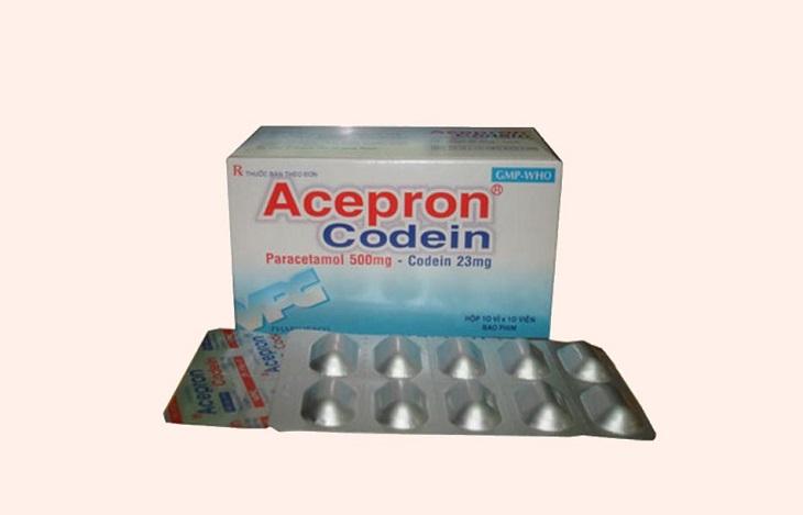 Acepron Paracetamol có thể tương tác với một số loại thuốc khác