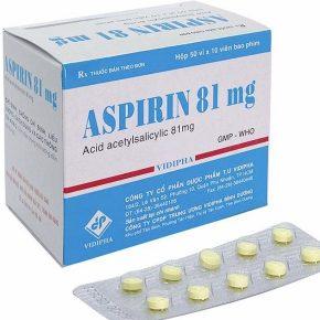 Acid Acetylsalicylic hay còn được gọi là Aspirin