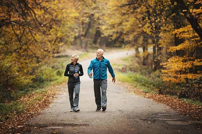 Lựa chọn không gian đi bộ thoải mái để có thể mang lại hiệu quả tốt nhất