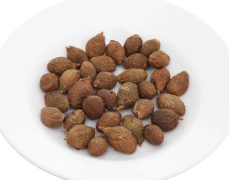 Hạt đười ươi có chứa nhiều thành phần dưỡng chất tốt cho cơ thể