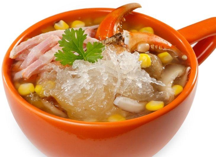 Người bị cao huyết áp có thể ăn súp tổ yến sào và thịt cua