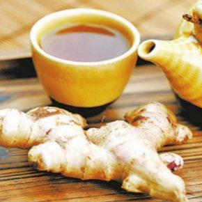 huyết áp cao uống trà gừng được không