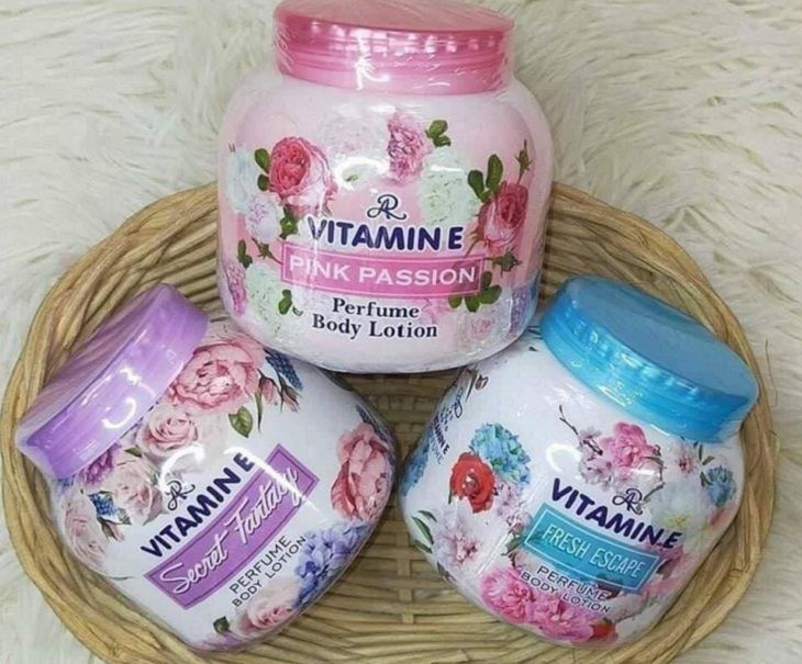 AR Vitamin E Perfume Body Lotion