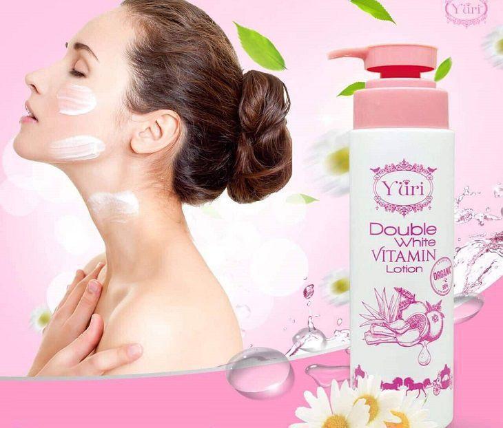 Kem trắng da toàn thân Thái Lan Double White Vitamin Lotion Yuri