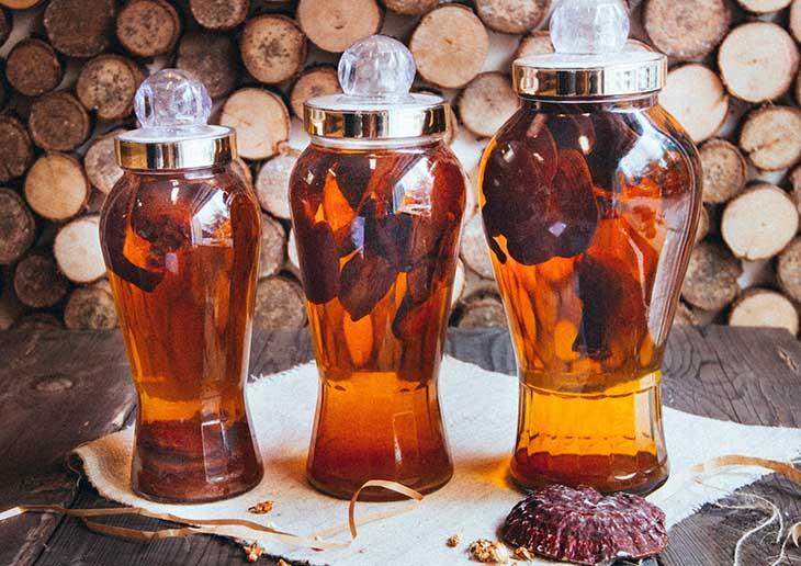 Rượu nấm ngọc cẩu ngâm rất tốt cho sức khỏe