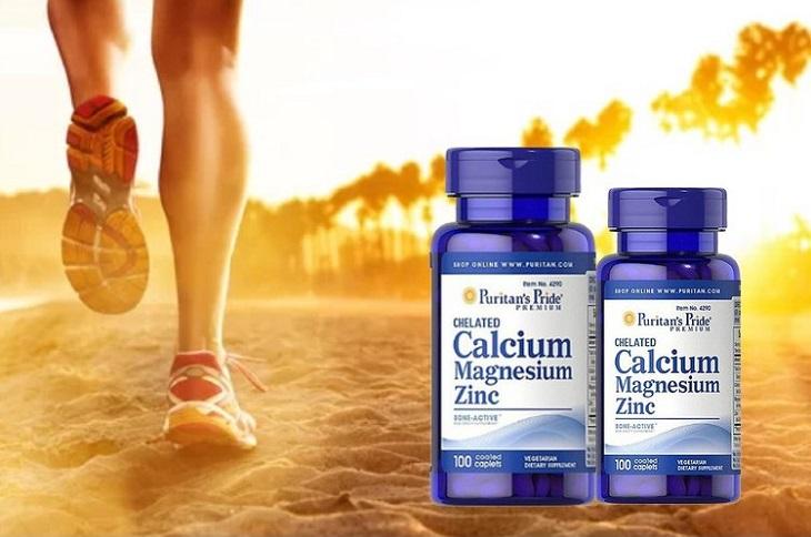 Viên uống Calcium Magnesium vitamin D3 Puritan's Pride