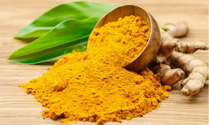Tinh bột nghệ chứa thành phần curcumin dồi dào rất tốt cho gan