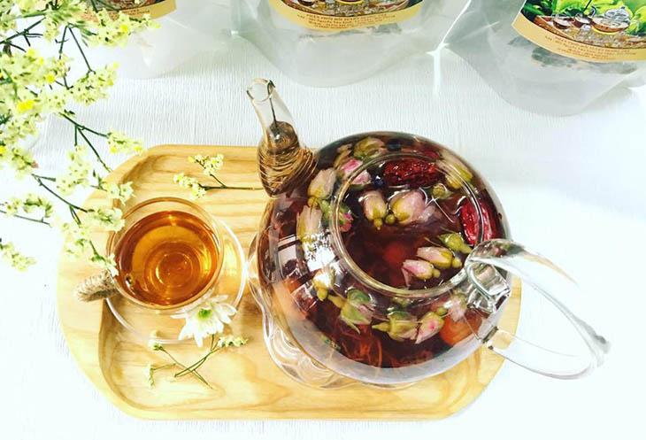 Các cách pha trà hoa hồng thơm ngon, bổ dưỡng