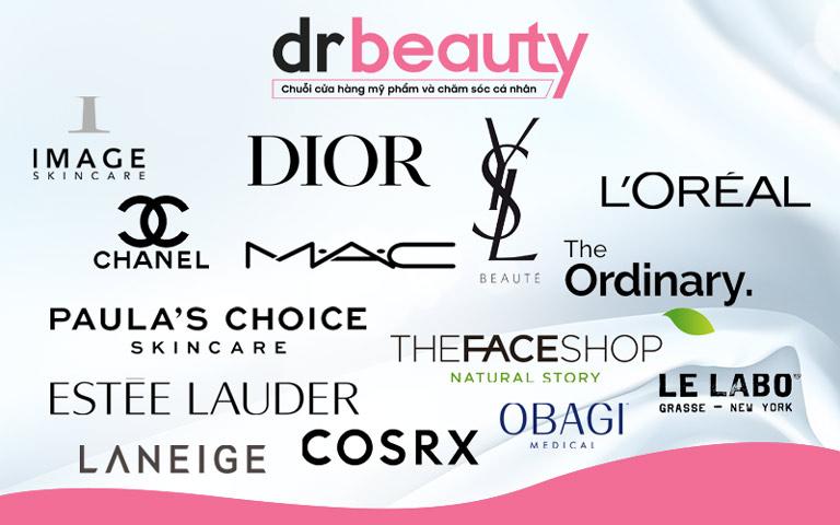 Dr Beauty không ngừng hợp tác với các thương hiệu mỹ phẩm để mang đến sản phẩm tốt nhất